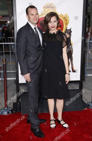 Rich Blomquist and Kristen Schaal