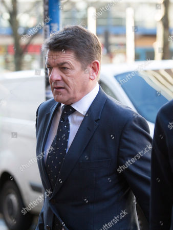 Stock Picture of Newcastle caretaker manager John Carver arriving at the tribunal