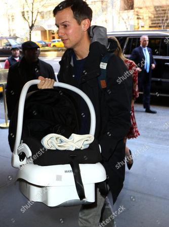 Jared Kushner with new baby son Theodore James Kushner