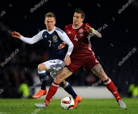 Editorial picture of Football - International Friendlies 2016 Scotland v Denmark Hampden Park, Glasgow, United Kingdom - 29 Mar 2016