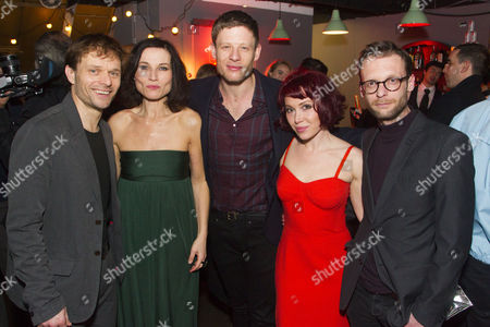 Alec Newman (Jerry Goss), Kate Fleetwood (Agnes), James Norton (Peter), Daisy Lewis (Ronnie) and Carl Prekopp (Dr Sweet)