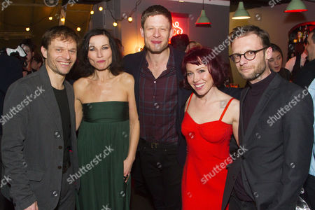 Editorial image of 'Bug' play, after party, London, Britain - 29 Mar 2016