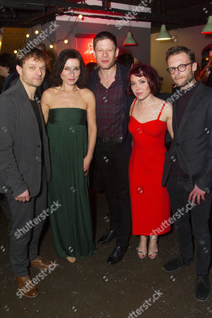 Alec Newman (Jerry Goss), James Norton (Peter), Kate Fleetwood (Agnes), Simon Evans (Director), Daisy Lewis (Ronnie) and Carl Prekopp (Dr Sweet)