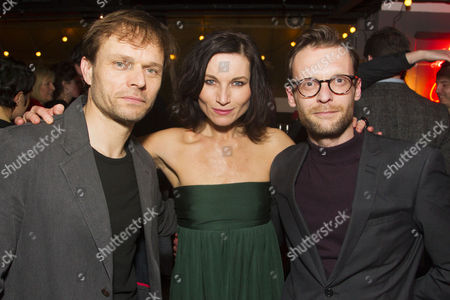 Alec Newman (Jerry Goss), Kate Fleetwood (Agnes) and Carl Prekopp (Dr Sweet)