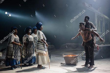 Danny Sapani (Tshembe Matoseh), Sheila Atim (Woman)