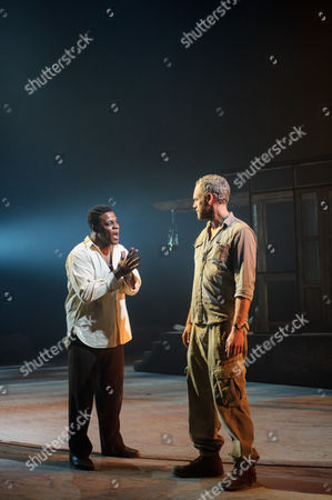 Danny Sapani (Tshembe Matoseh), Elliot Cowan (Charlie Morris)