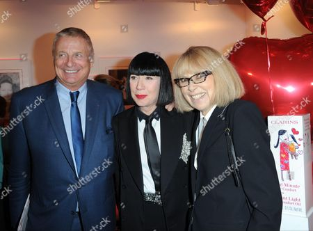 Christian Courtin-Clarins, Chantal Thomass, Mireille Darc