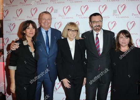Editorial picture of Prix Clarins, Paris, France - 29 Mar 2016