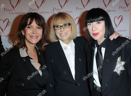 Tina Kieffer, Mireille Darc, Chantal Thomass