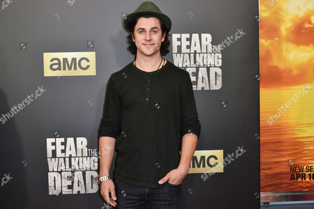 Editorial picture of 'Fear The Walking Dead' TV series premiere, Los Angeles, America - 29 Mar 2016
