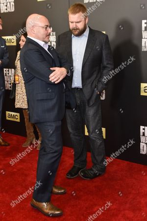 Charlie Collier, producer Dave Erickson and Joel Stillerman