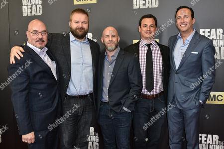 Joel Silverman, Robert Kirkman, Dave Erickson, David Alpert and Charlie Collier