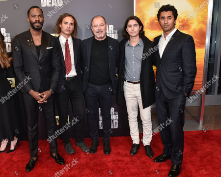 Colman Domingo, Frank Dillane, Ruben Blades, Lorenzo James Henrie and Cliff Curtis