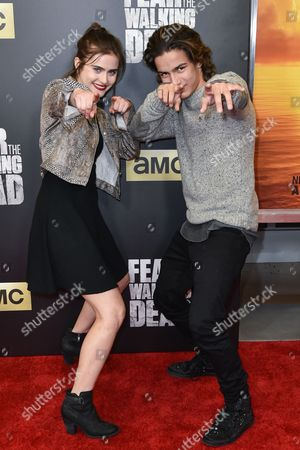 Editorial image of 'Fear The Walking Dead' TV series premiere, Los Angeles, America - 29 Mar 2016