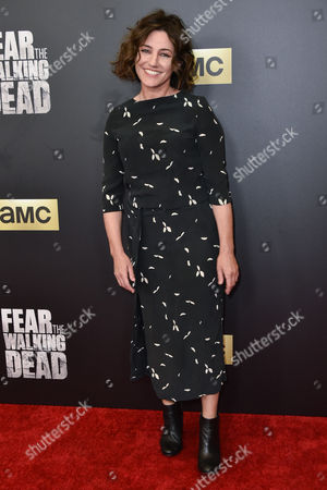 Editorial image of 'Fear The Walking Dead' TV series premiere, Los Angeles, America - 29 Mar 2016