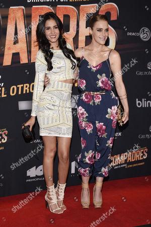 Barbara Islas and Sofia Figerman