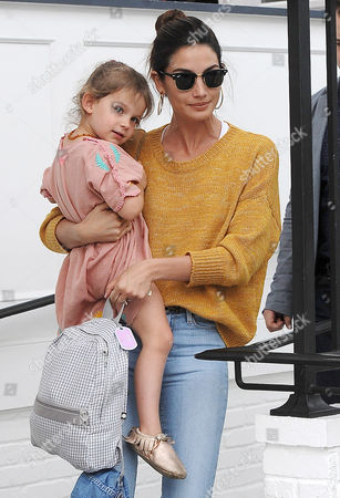 Editorial picture of Lily Aldridge out and about, Los Angeles, America - 29 Mar 2016