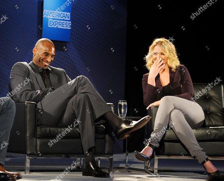 Kobe Bryant and Kristen Ledlow