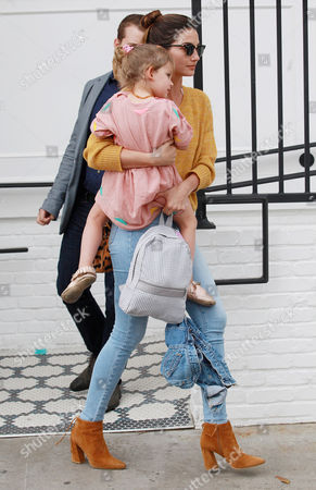 Stock Picture of Lily Aldridge and Dixie Pearl Followill