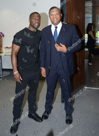 Kevin Hart and Fikile Mbalula, Minister of Sport and Recreation