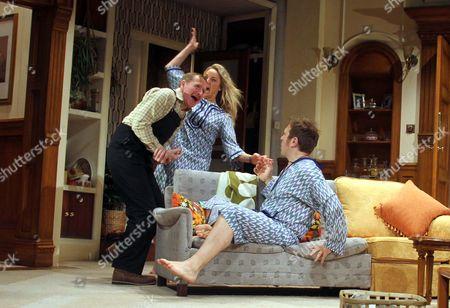 Matthew Cottle as William Featherstone, Tamzin Outhwaite as Teresa Phillips and Jason Merrills as Bob Phillips