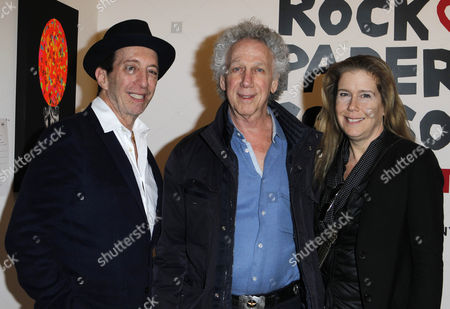 Stock Image of Tom Silverman, Bob Gruen and Elizabeth Gregory Gruen