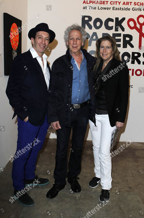 Tom Silverman, Bob Gruen and Elizabeth Gregory Gruen