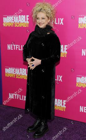 Editorial image of 'Unbreakable Kimmy Schmidt' Season 2, TV series premiere, New York, America - 30 Mar 2016
