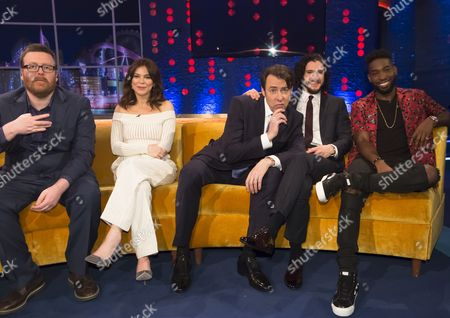 Editorial photo of 'The Jonathan Ross Show', London, Britain - 02 Apr 2016
