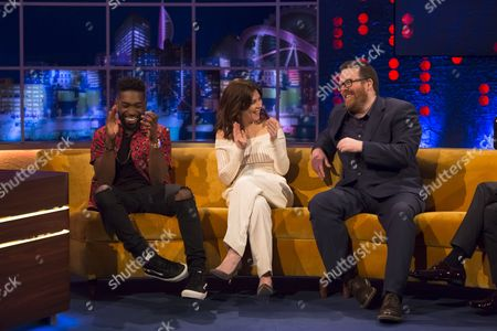 Editorial image of 'The Jonathan Ross Show', London, Britain - 02 Apr 2016