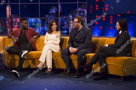 Editorial picture of 'The Jonathan Ross Show', London, Britain - 02 Apr 2016