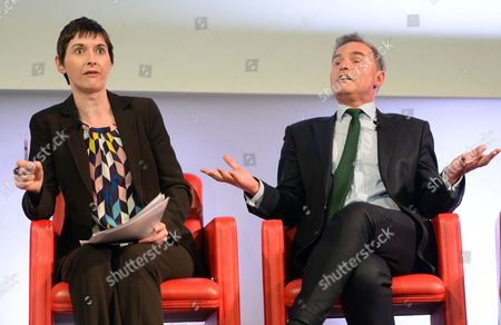 Caroline Pidgeon and Peter Whittle