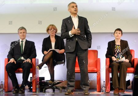 Editorial picture of Evening Standard Mayoral Debate, London, Britain - 03 Feb 2016