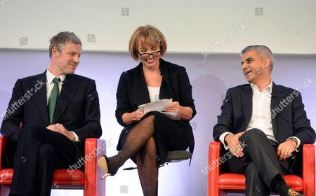 Zac Goldsmith, Sarah Sands, Sadiq Khan