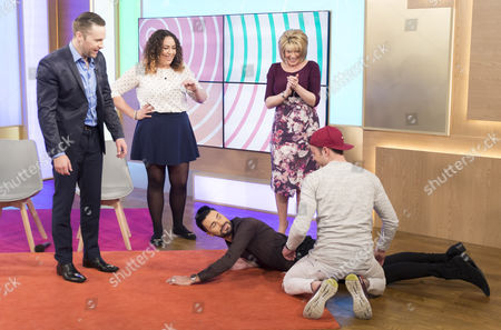 Keith Barry, Isabelle Markham, Ben Wilson, Ruth Langsford and Rylan Clark