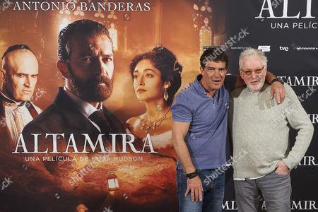 Antonio Banderas, Hugh Hudson