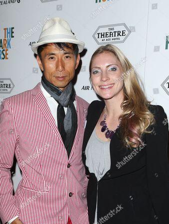 James Kyson and wife Jaimie