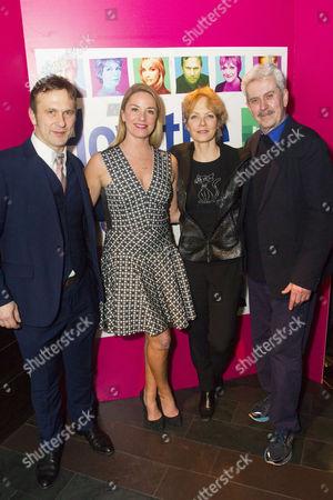 Jason Merrells (Bob Phillips), Tamzin Outhwaite (Teresa Phillips), Jenny Seagrove (Fiona Foster) and Nicholas Le Prevost (Frank Foster)