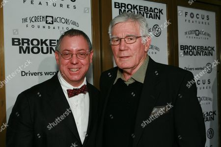 Producer James Schamus and Peter McRobbie