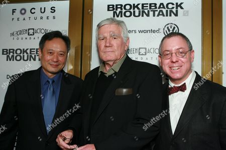 Director Ang Lee, Peter McRobbie and Producer James Schamus