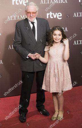 Hugh Hudson and Allegra Allen