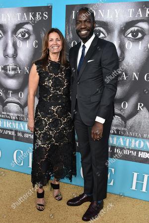 Susannah Grant and Rick Famuyiwa