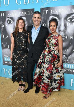 Susannah Grant, Michael London (Executive Producers) and Kerry Washington