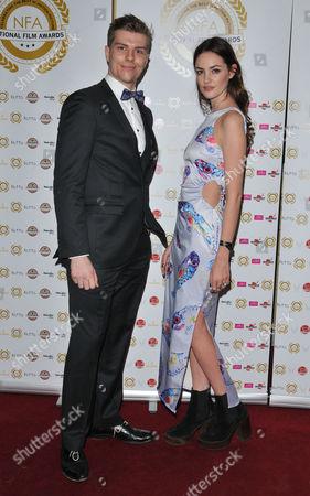 Stock Photo of Robert Boulton and Alexandra Evans