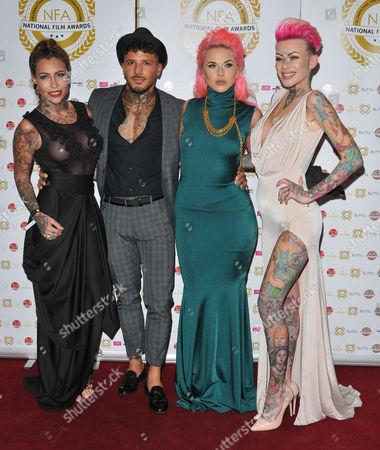 Terri Altilar, guest, Dannika Daisy and Becky Holt