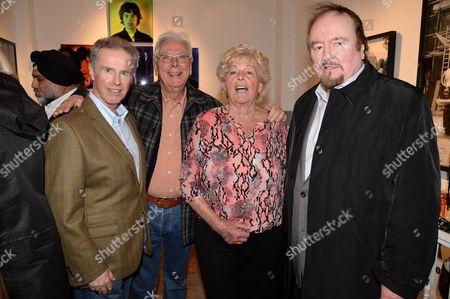 Gered Mankowitz, Glyn Johns, Cynthia Stewart and Alan Dunn