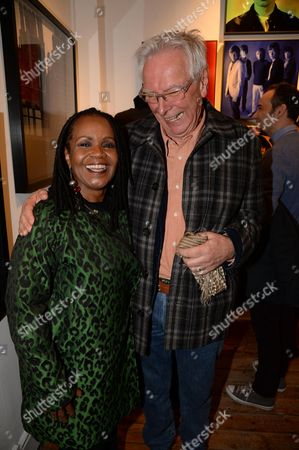 P P Arnold and Glyn Johns