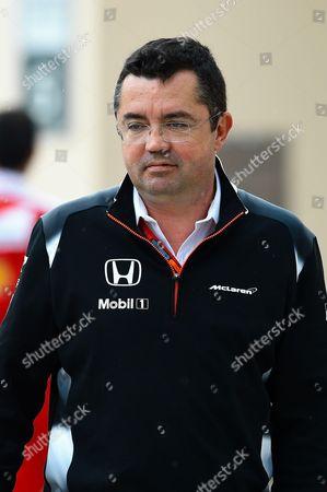 Eric Boullier, McLaren Racing Director , McLaren Mercedes
