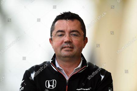Eric Boullier, McLaren Honda Formula 1 Team