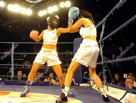 Kayleigh Pearson fighting Sapphira O'Shannon